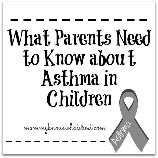 What Parents Need to Know about Asthma in Children