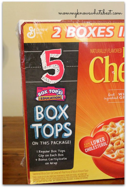 Bonus Box Tops at Walmart
