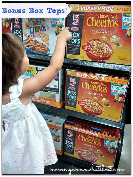 Box Tops for Education at Walmart
