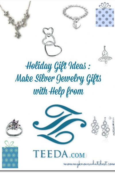 holiday gift ideas with silver jewelry
