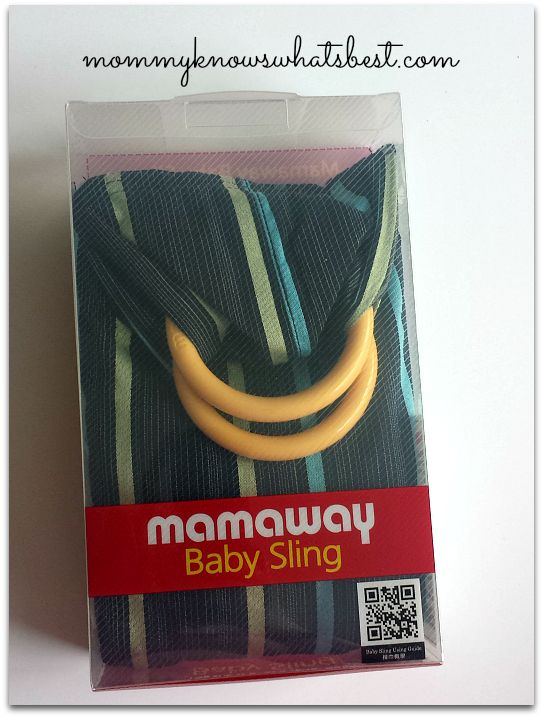 mamaway ring sling
