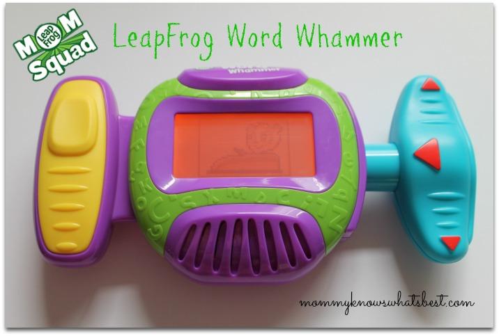 LeapFrog Word Whammer letter games