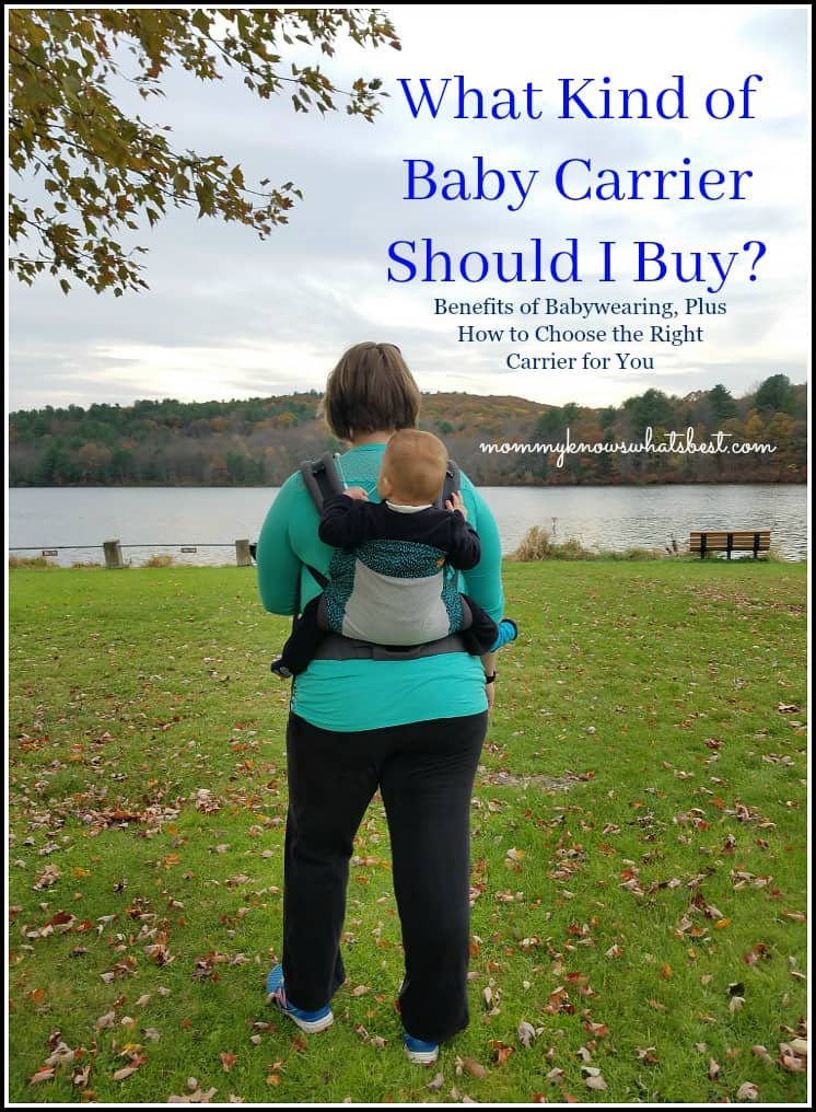 What Baby Carrier Should Is Best for Me? How to Choose A Baby Carrier