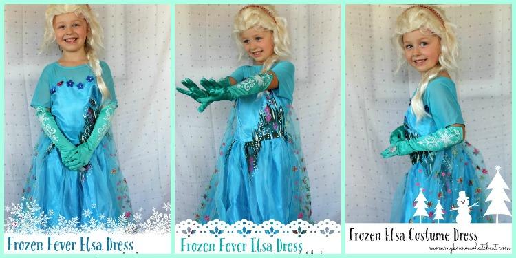 Frozen Fever Elsa Dress