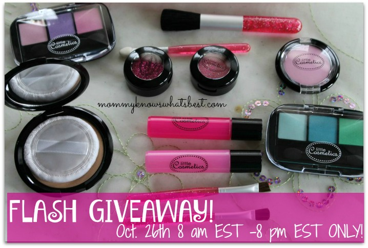 Little Cosmetics Pretend Makeup Set Giveaway