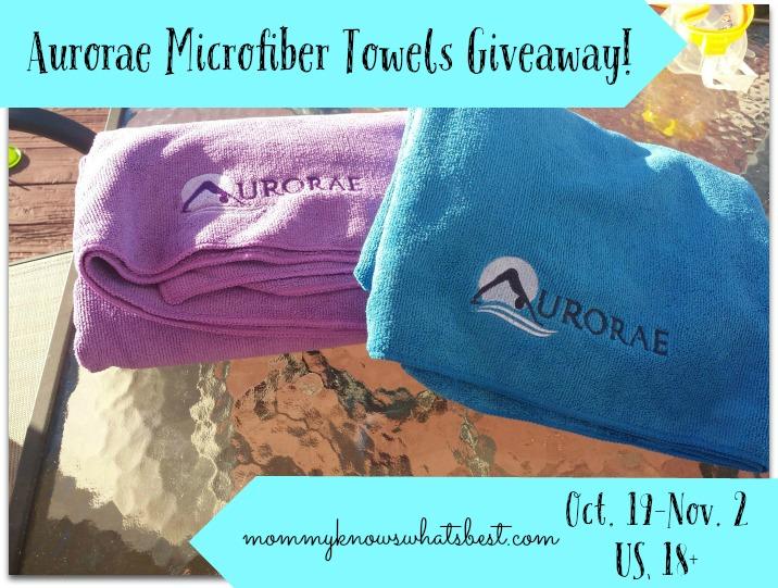 soft microfiber towels giveaway