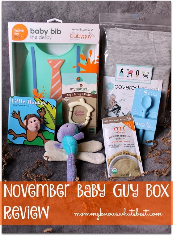 November baby guy box review