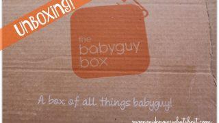 BabyGuy Box Review November 2015