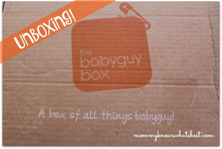 baby guy box unboxing