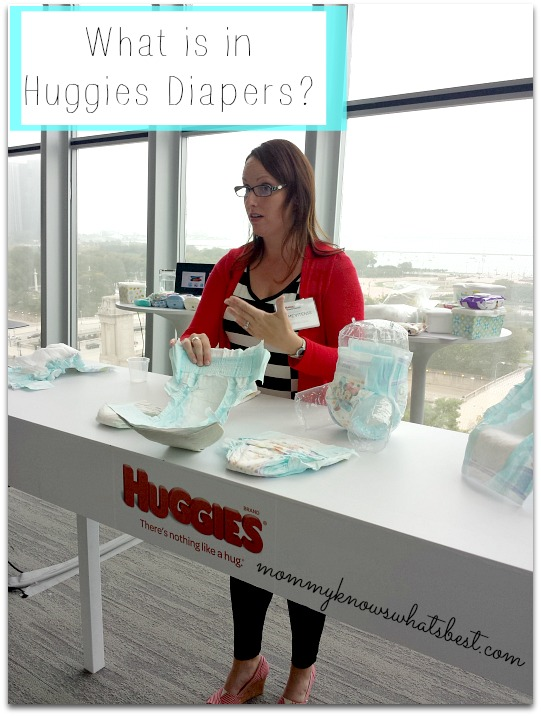 materials in huggies diapers