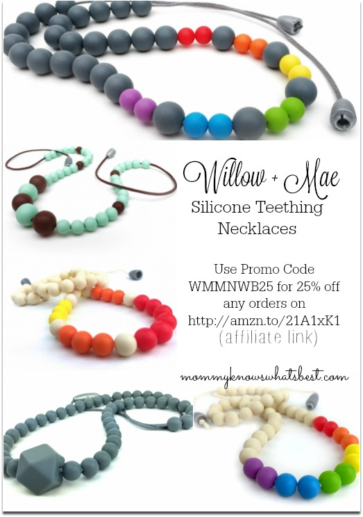teething necklace promo code