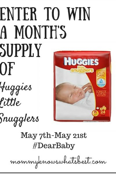 huggies diapers giveaway