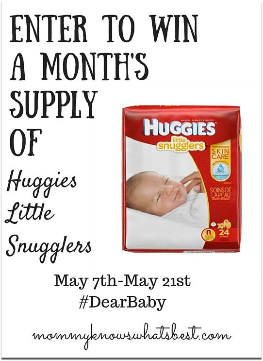 huggies diapers giveaway