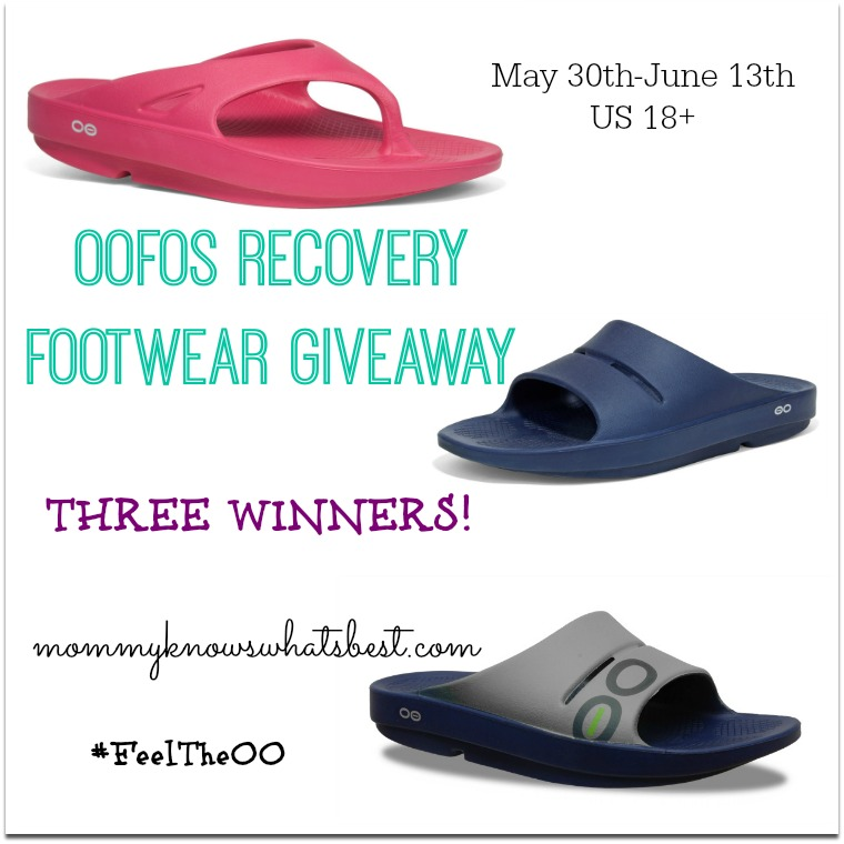 oofos giveaway