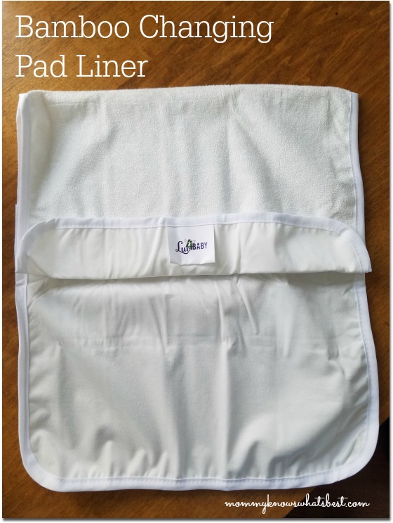 Bamboo Changing Pad Liners For On The Go Diaper Changes
