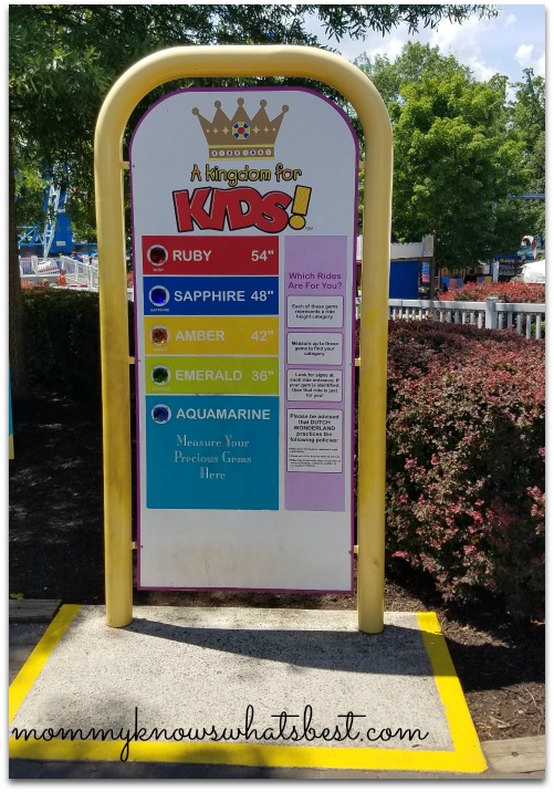 dutch wonderland height requirement