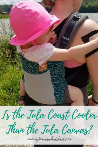 Is the Tula Coast Mesh Carrier Cooler Than the Tula Canvas Carriers?