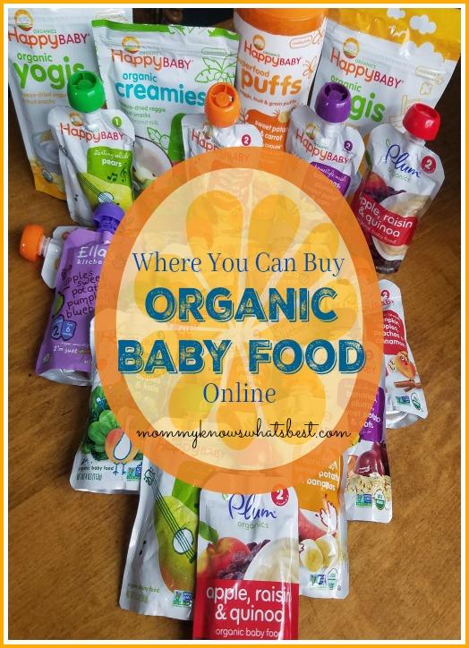 buy organic baby food