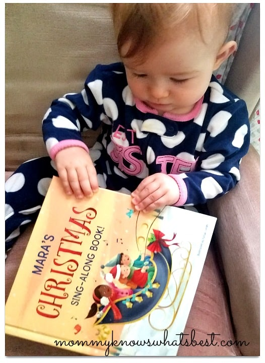 christmas personalized books for kids