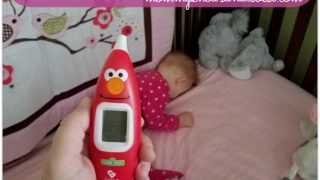 How to Take a Baby's Temperature Using the Kinsa Sesame Street Smart Ear Thermometer