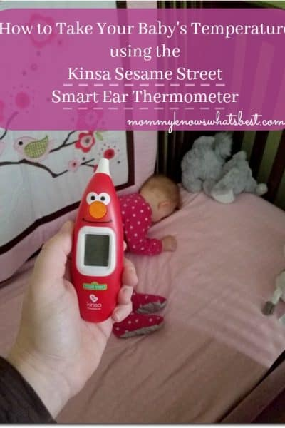 How to take a baby's temperature