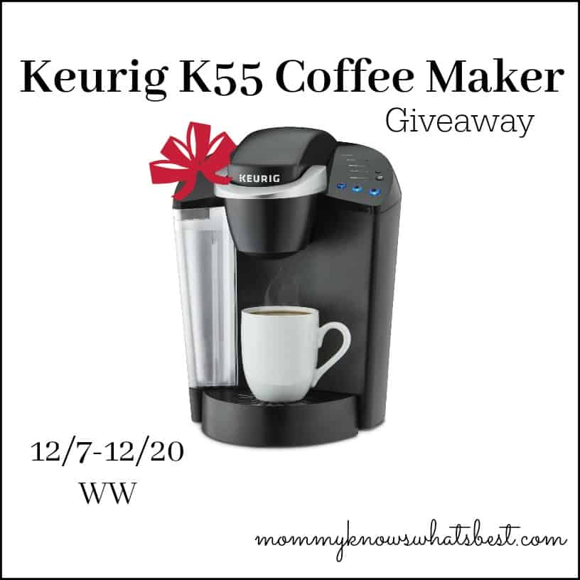 Keurig k55 coffee maker giveaway Coffee maker reviews 2016