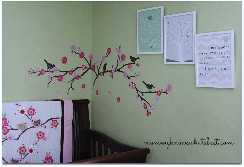 love birds baby room