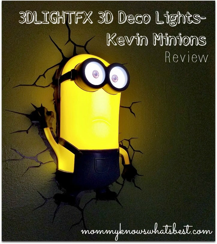 Minion Room Decor from 3DLIGHTFX 3D Deco Lights Review