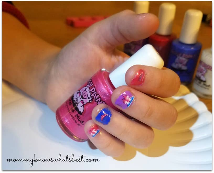safe nail polish for kids at walmart