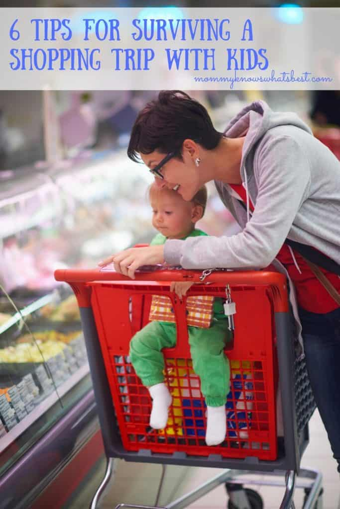 6 Tips for Surviving a Shopping Trip with Kids