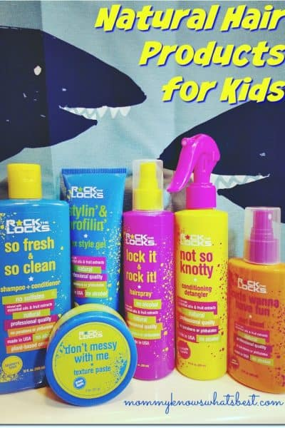 natural hair products for kids