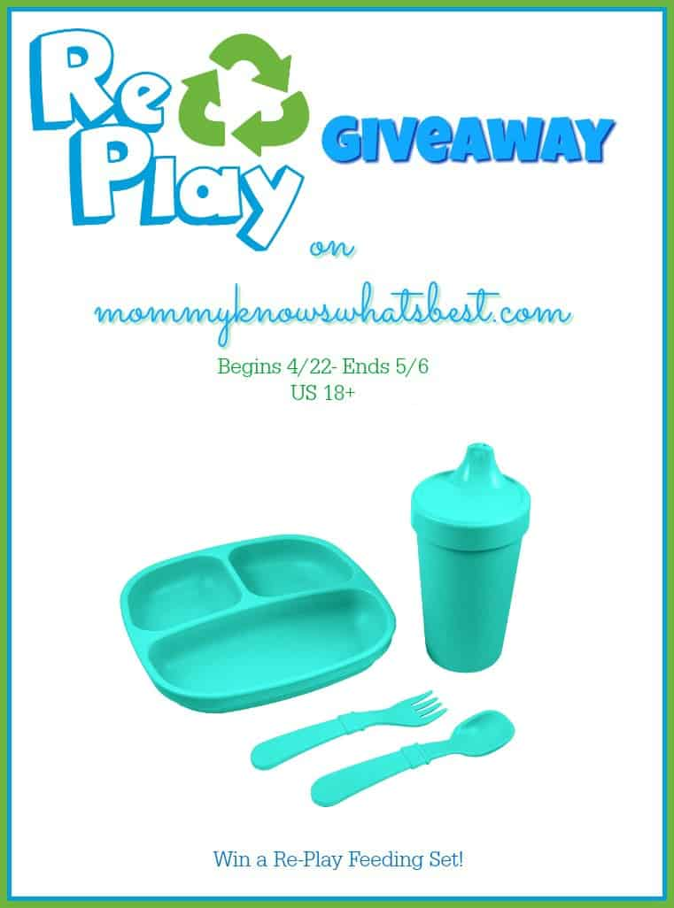 re-play giveaway