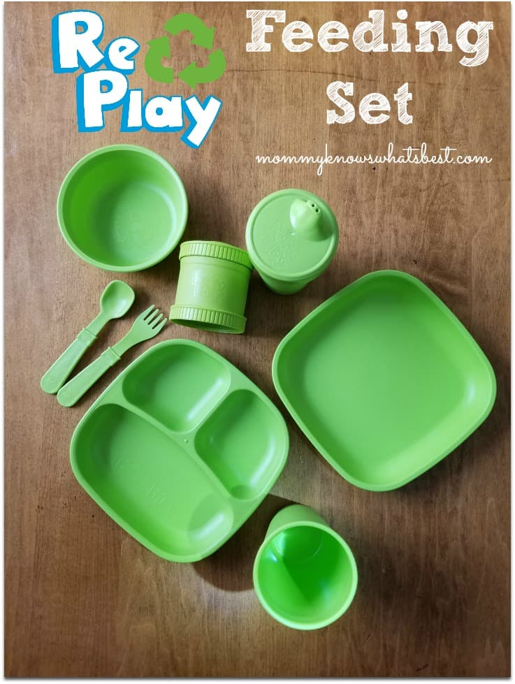 Re-Play Recycled review: Learn more about eco friendly plates, bowls, cups, silverware and more for kids!