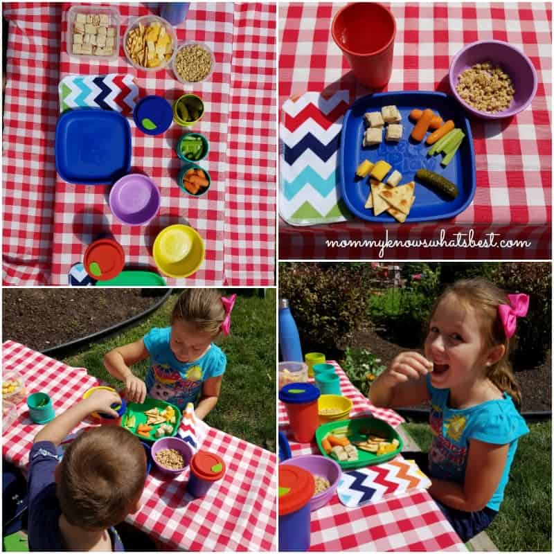 fun eco-friendly picnic for kids