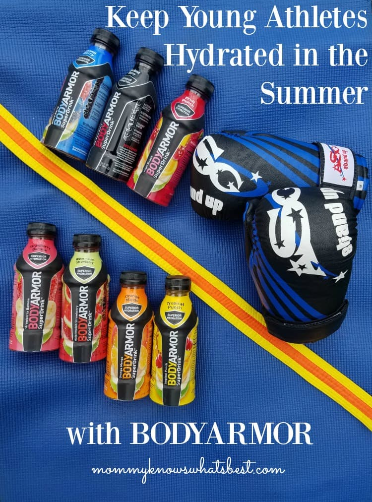 keep young athletes hydrated bodyarmor