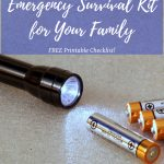 How to Create an Emergency Survival Kit for Your Family Emergency Checklist
