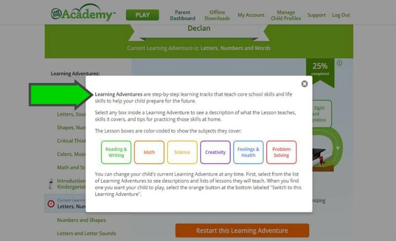 LeapFrog Academy Learning Adventures