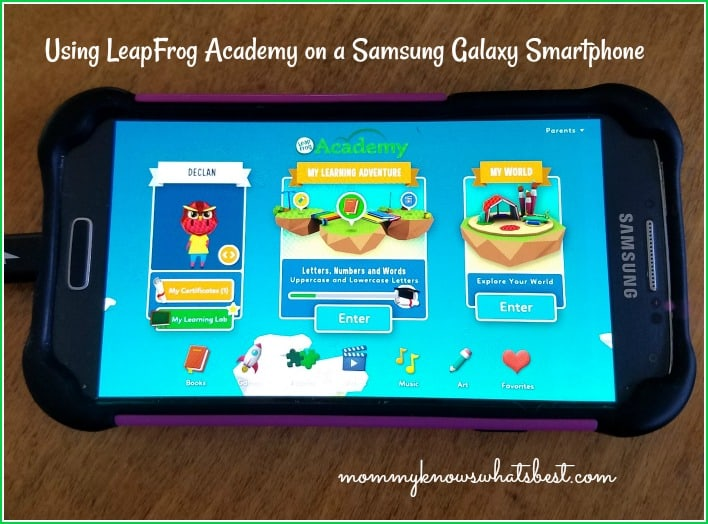 leapfrog academy android device
