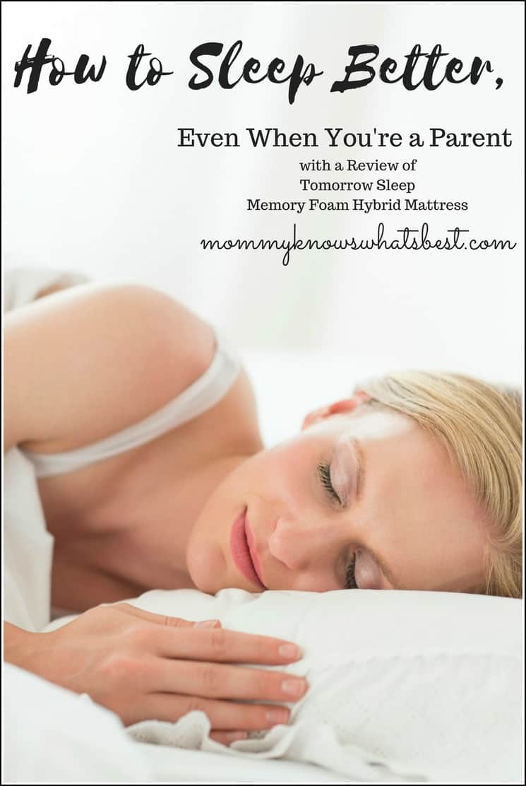 How to Sleep Better as a Parent, with Tips and Suggestions