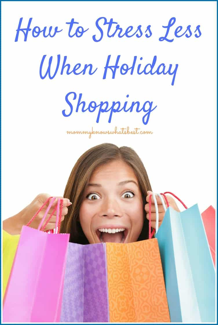 How to Stress Less When Holiday Shopping