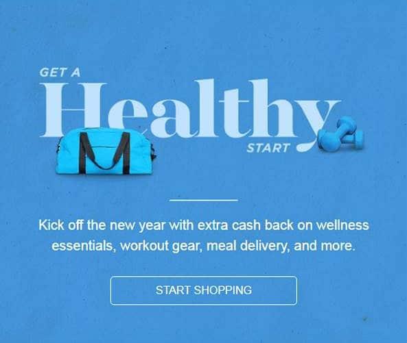 healthy kick start with ibotta