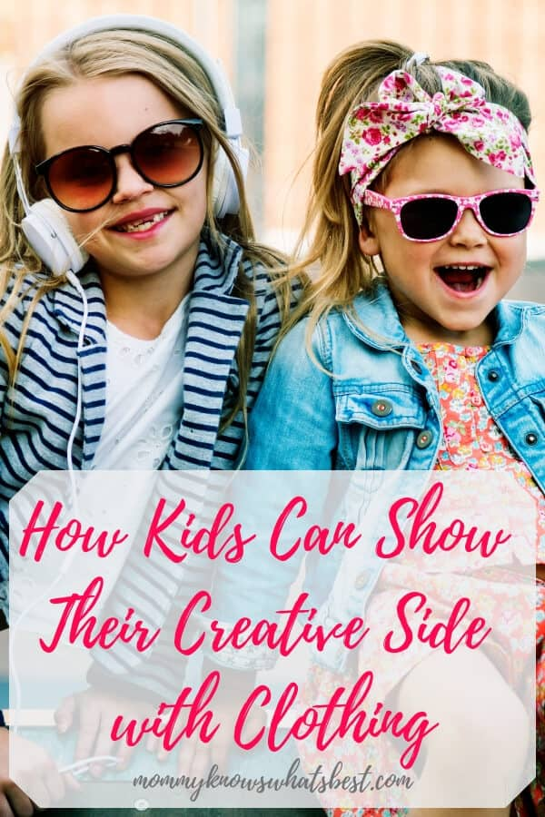 How Kids Can Show Their Creative Side with Clothing and Fashion