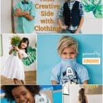 how kids can show their creative side with clothing