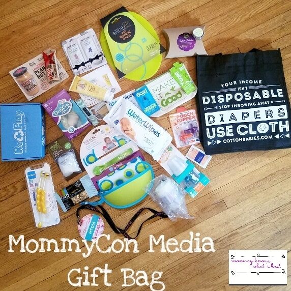 mommycon media gift bag
