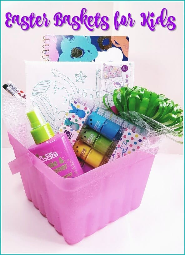 Easter basket ideas for kids that are fun and sugar free.