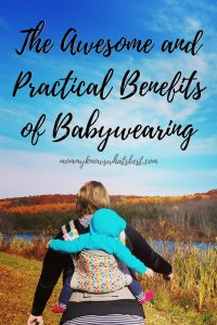 The Awesome And Practical Benefits Of Babywearing
