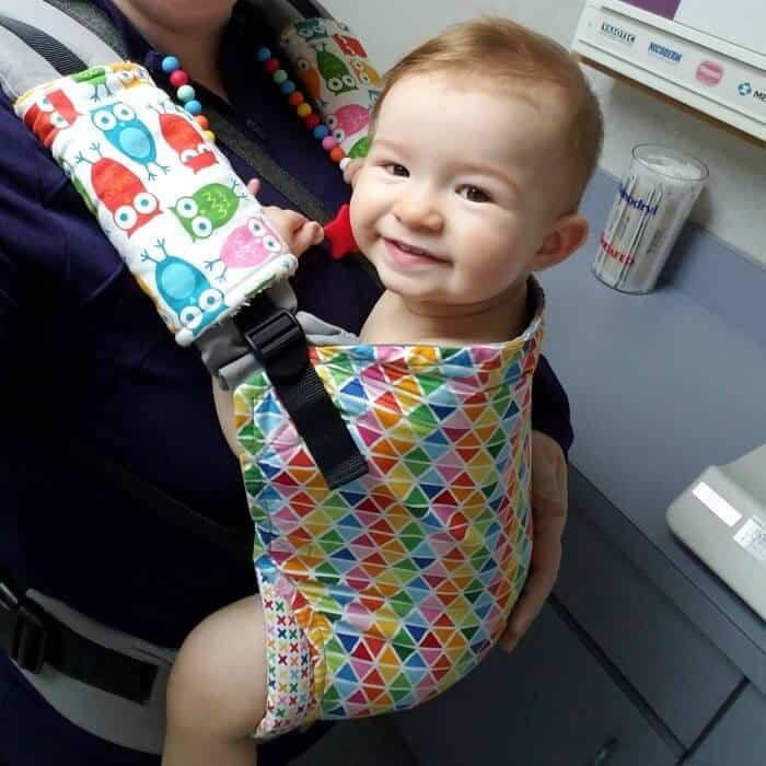 babywearing baby tula confetti pop
