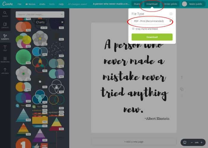 canva free printables tutorials