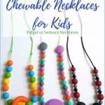 How to Make a Chewable Necklace for Kids