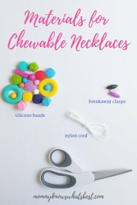 Materials for Chewable Necklaces